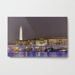 Washington DC Metal Print