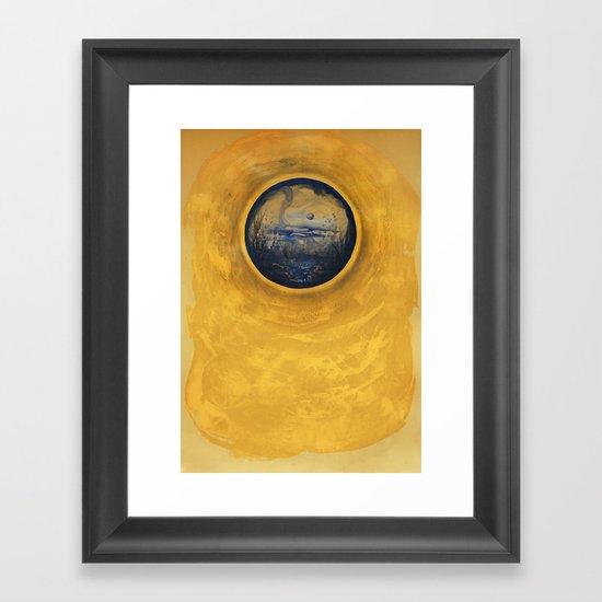 Somewhere in the Sun Framed Art Print