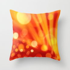 Moonrise On Io Throw Pillow