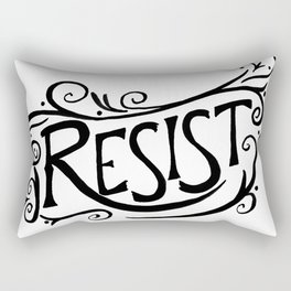Resist Rectangular Pillow