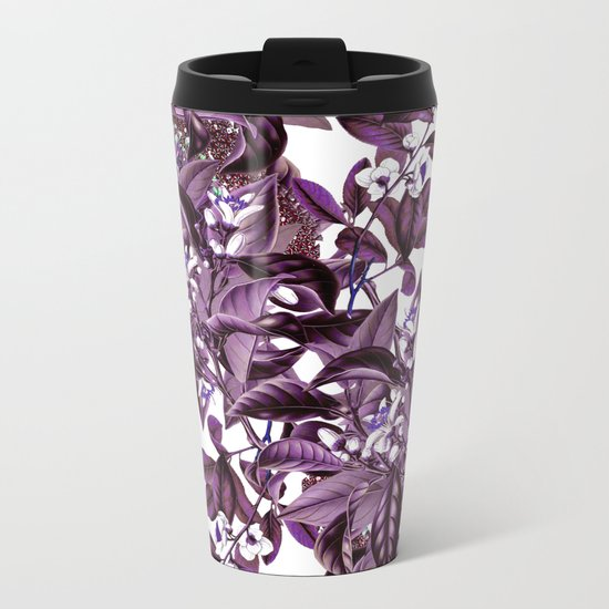 LEAF PATTERN 2 Metal Travel Mug