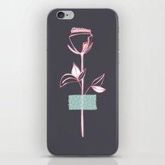 Rosewall (on grey) iPhone & iPod Skin