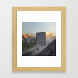 Control Machine Framed Art Print