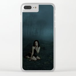Image 2 - Lost in the Forest Clear iPhone Case