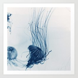 Deep Blue Sea #3 Art Print
