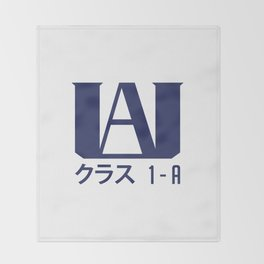 U.A. High School Throw Blanket