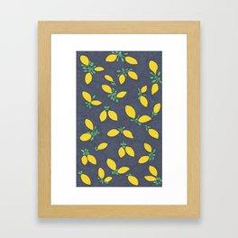 Lemon Drops Framed Art Print
