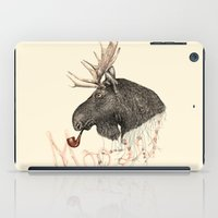 moose iPad Cases featuring moose by dogooder