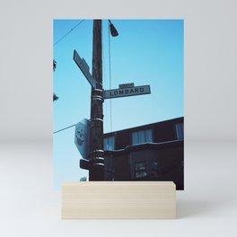 LOMBARD STREET Mini Art Print