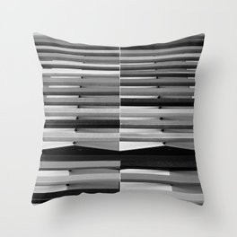 Intersections 1 Throw Pillow