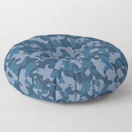 Camouflage Ocean Floor Pillow