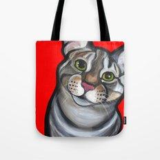 Lola the tabby Tote Bag