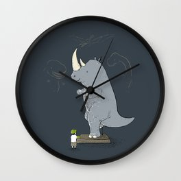The Rhinosaurus Wall Clock