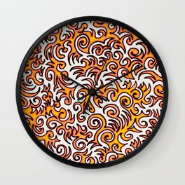 The Sqwiggle Wall Clock