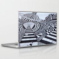 ninja Laptop & iPad Skins featuring Ninja by Biancasigns