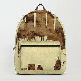 Houston Texas Cityscape Backpack