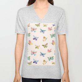 Beautiful Butterflies Unisex V-Neck