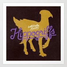 Hippogriffs Art Print