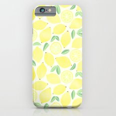 Summer Lemons Slim Case iPhone 6