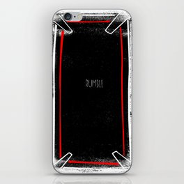 rumble iPhone Skin