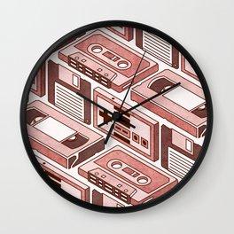 90's pattern Wall Clock