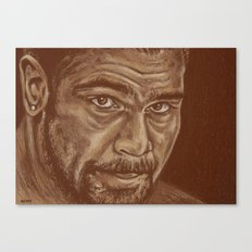 round 11..david haye Canvas Print