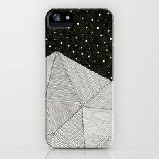 Stripe Mountains iPhone SE Slim Case