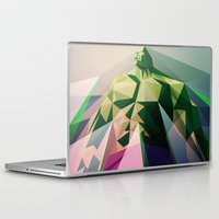 mad Laptop & iPad Skins featuring Mad Man by Liam Brazier