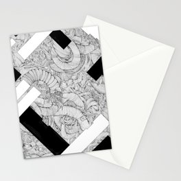 Opposing Insecurities Stationery Cards