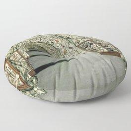 Museum of Curiosities Floor Pillow