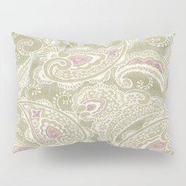 batik paisley warm Pillow Sham
