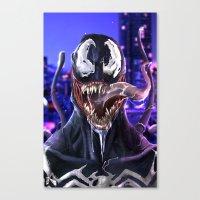 venom Canvas Prints featuring VENOM by corverez