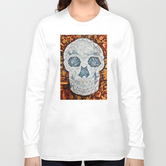 Galvanized Skull Long Sleeve T-shirt