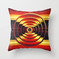 focus Throw Pillows featuring Focus by DebS Digs Photo Art