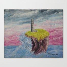 No. 4, Earthen Island Canvas Print