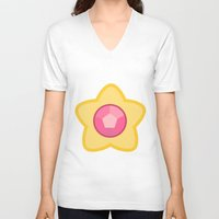 steven universe V-neck T-shirts featuring Steven Universe by The Barefoot Hatter