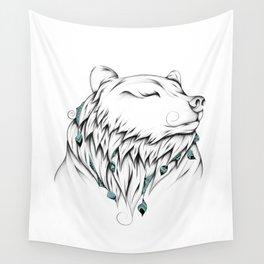 Poetic Bear Wall Tapestry