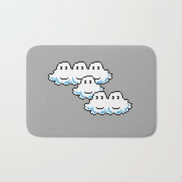 Super Mario Clouds Bath Mat