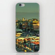 The marketplace of Marrakesh iPhone & iPod Skin