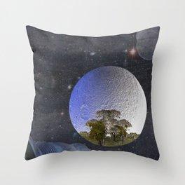 'Faint indeterminate glimpses... Throw Pillow