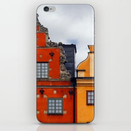 Stockholm. Colorful Houses in Gamla Stan iPhone Skin