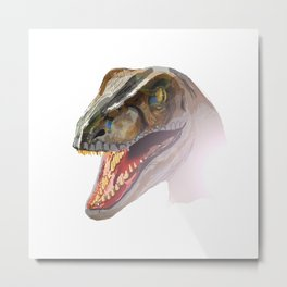 Clever Girl Metal Print