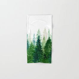 Pine Trees 2 Hand & Bath Towel