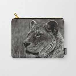Lioness Portrait Carry-All Pouch