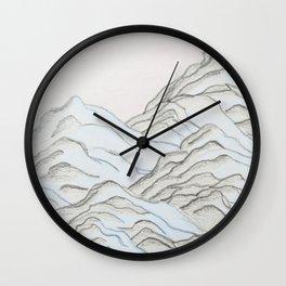Mountain Madness, No. 1 Wall Clock