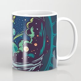 Center Of The Universe Coffee Mug