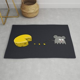 Cheese and Mouse Rug