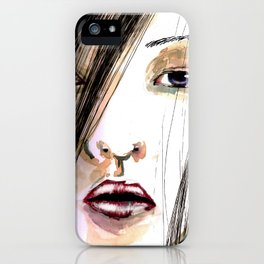 Jap Girl  iPhone Case