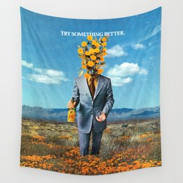 Try Something Better Wall Tapestry