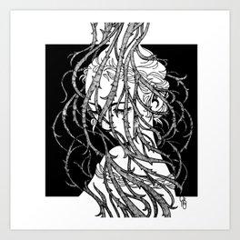 Brambles 15 Art Print